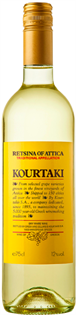 Kourtaki Retsina Of Attica 750ml - Case of 12